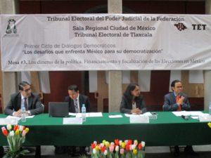 """Primer Ciclo de Diálogos Democráticos, """"Los desafíos que enfrenta México para su democratización"""
