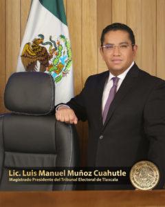 Lic. Luis Manuel Muñoz Cuahutle