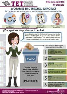 ¡Votar es tu Derecho Ejércelo!
